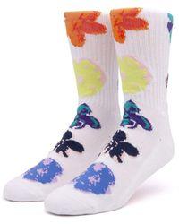 Huf Adored Socks - White