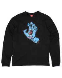 Santa Cruz - Screaming Hand Longsleeve T-shirt - Lyst