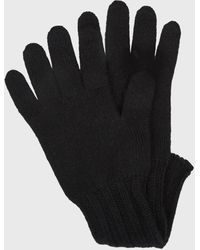 Pringle of Scotland Women's Scottish Cashmere Gloves In Black
