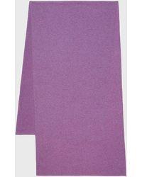 Pringle of Scotland Scottish Cashmere Scarf - Purple