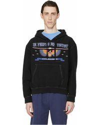Phipps Sweatshirt à capuche Patriot en coton organique - Noir