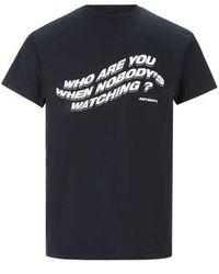Antidote T-shirt en coton - Noir