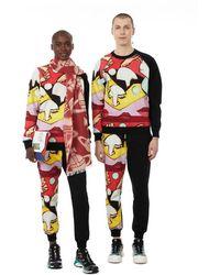 Vivienne Westwood Sweatshirt imprimé en coton - Noir