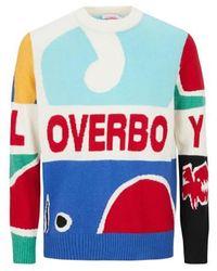 Charles Jeffrey LOVERBOY Pull Loverboy en laine - Multicolore