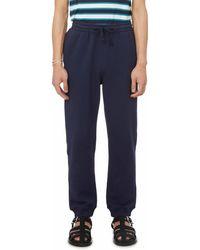 Organic Basics Organic Cotton Mid-weight joggers - Blue