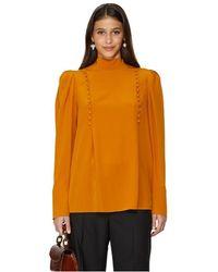 Givenchy Blouse en soie - Orange