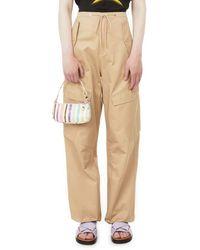 Dion Lee Pantalon cargo Parachute - Neutre