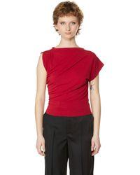 Vivienne Westwood Asymmetric Top - Red