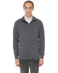 Barbour Holden Wool Jumper - Grey