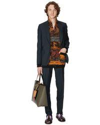 Paul Smith Costume fit en laine et mohair - Vert