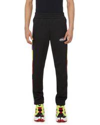 Palm Angels Pantalon de jogging à logo - Noir
