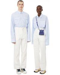 Antidote Cotton Trousers - White