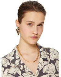 Isharya Earrings - Brown