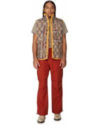 Paria Farzaneh Sleeveless Cotton Jacket - Multicolour