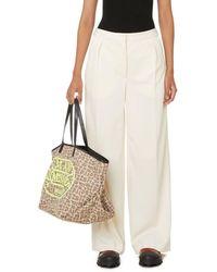 Palm Angels Pantalon large x Missoni - Blanc