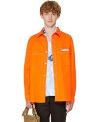 MISBHV Denim Overshirt - Orange