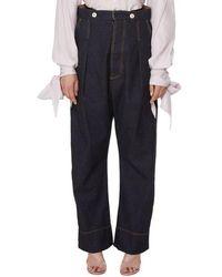 Vivienne Westwood Jeans Corset - Bleu