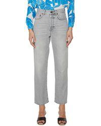 Acne Studios Mom Fit Jeans - Grey