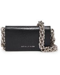 1017 ALYX 9SM Leather Clutch - Black