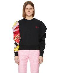 Vivienne Westwood Sweatshirt avec logo brodé - Noir