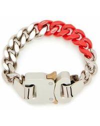 1017 ALYX 9SM Bracelet à boucle - Rouge