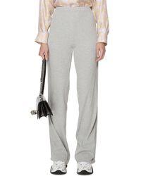 Antidote Cotton Skinny Trousers - Grey