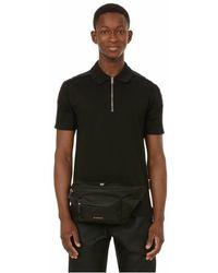 Givenchy Polo en coton - Noir
