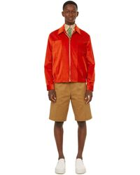 Paul Smith Corduroy Jacket - Red