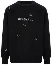 Givenchy Sweatshirt en coton - Noir