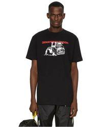 Off-White c/o Virgil Abloh T-shirt en coton imprimé - Noir