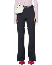 Antidote Tailored Slit Trousers - Blue