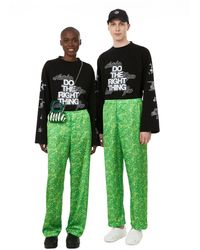 Antidote Printed Trousers - Green