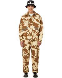 Paria Farzaneh Camouflage Jacket - Brown