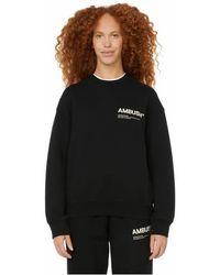 Ambush Sweat-shirt à logo - Noir