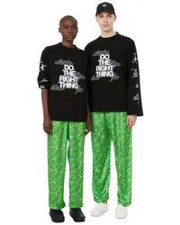 Antidote T-shirt manches longues en coton mélangé - Noir
