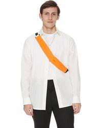 1017 ALYX 9SM Cotton Logo Shirt - White