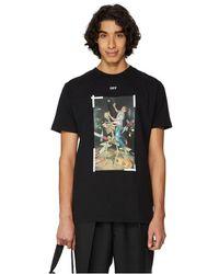 Off-White c/o Virgil Abloh T-shirt Pascal Painting à imprimé graphique - Noir