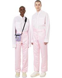 Antidote Satin Trousers - Pink