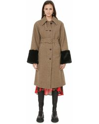 Custommade• Recycled Wool-blend Coat - Brown