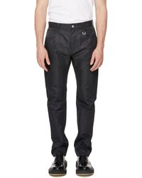 1017 ALYX 9SM Straight Nylon Trousers - Black