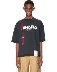 Maison Mihara Yasuhiro Cotton T-shirt - Black