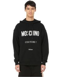 Moschino Hoodie à logo - Noir