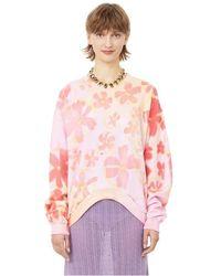 Collina Strada Sweatshirt à imprimé - Rose