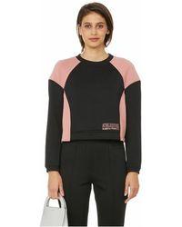 Alberta Ferretti Sweatshirt bicolore - Noir