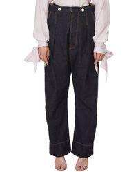Vivienne Westwood Corset Jeans - Blue