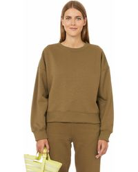 Gestuz Rubi Organic Cotton Sweatshirt - Green