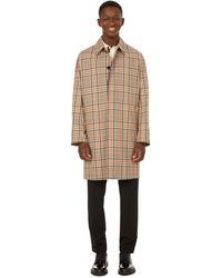 Paul Smith Cotton Coat - Natural