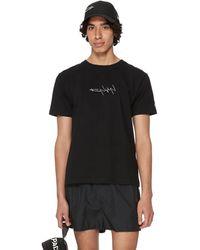Yohji Yamamoto Cotton X New Era T-shirt - Black