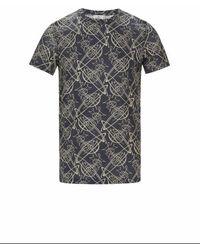 Vivienne Westwood T-shirt imprimé en coton - Gris