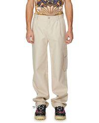 BOTTER Pantalon large en coton - Neutre